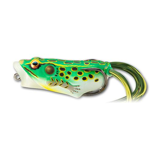 Live Target Frog Hollow Body Popper