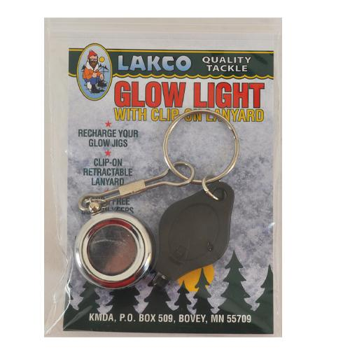 Lakco Glow Light with Clip-On Lanyard