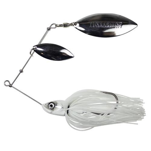 Lunkerhunt Impact Ignite Willow Leaf Spinnerbait Ghost Hard Baits