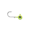 VMC 1/16 oz Neon Moon Eye Jig - 2 Pack Glow Chartreuse Hard Baits