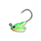 Northland Tackle Stand-Up FireBall Jigs - 6 Pack 1/8 oz / Glow Watermelon Hard Baits