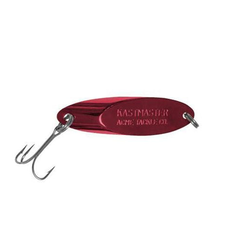 Acme 1/12 oz Kastmaster Spoon - Gold Neon Red Default Title