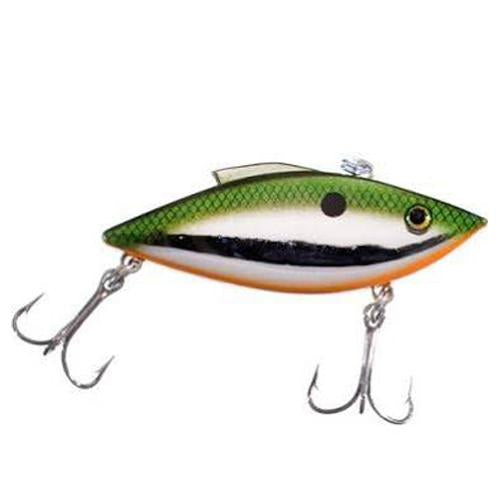 Bill Lewis 1/2 oz Rat-L-Trap Gold Tennessee on Chrome Hard Baits