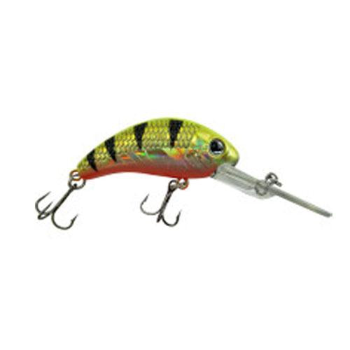 Walleye Nation Creations Boogie Shad Goldaliscious Hard Baits