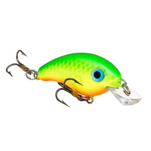 Strike King Bitsy Minnow Green Back Chartreuse Hard Baits