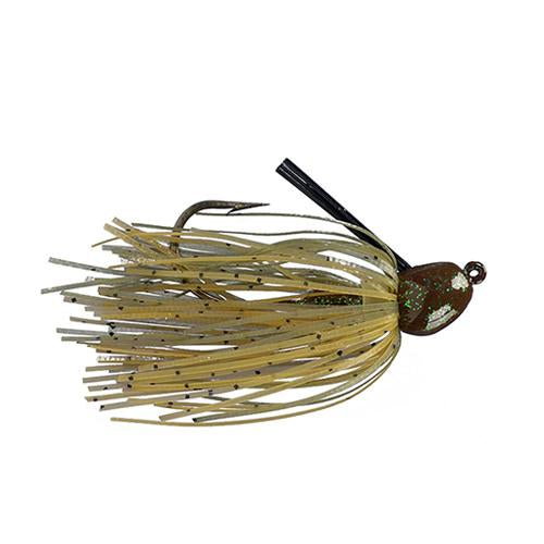 Strike King Bitsy Bug Mini Jig 1/4 oz / Green Crawfish Hard Baits