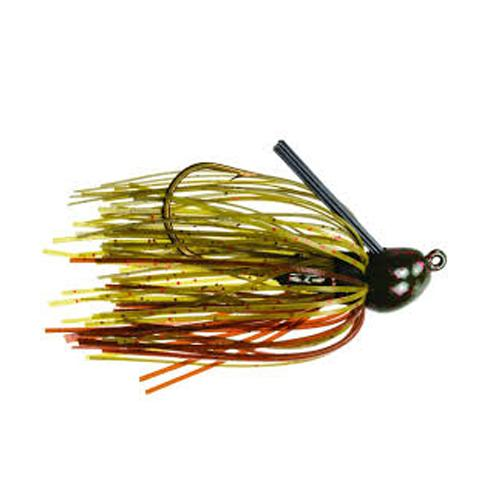 Strike King Bitsy Bug Mini Jig 1/4 oz / Green Pumpkin Hard Baits