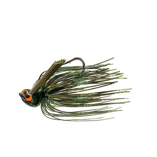 Z-Man CrossEyeZ Flipping Jig 1/2 oz Green Pumpkin Hard Baits