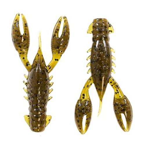 Z-Man TRD CrawZ - 6 Pack Green Pumpkin Soft Baits