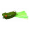 Snag Proof Ultra Popper 1/4 oz Green Soft Baits