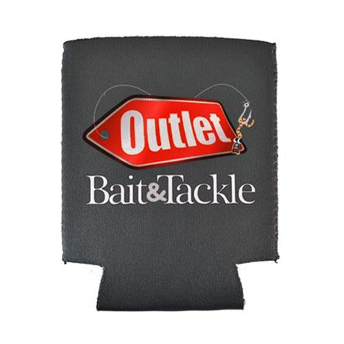 Outlet Bait Signature Can Koozie Charcoal Accessories