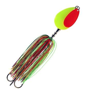 Hang On Tackle Sound Science Rolling Thunder Bucktail - Firetiger