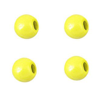 Lindy 1/16 oz X-Change Jig Replacement Heads - 5 Pack Hot Yellow Hard Baits