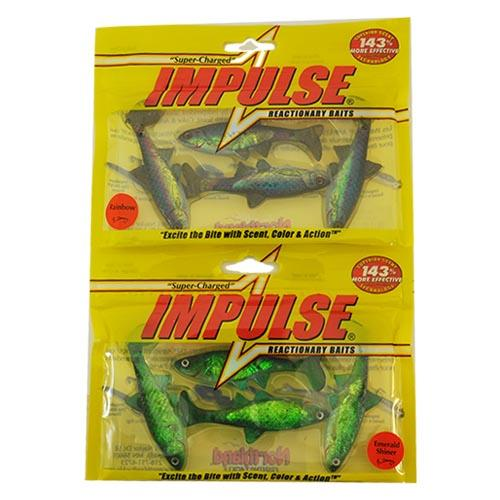 Northland Tackle Impulse Live Paddle Minnow 2 Piece Assortment Sets & Bundles