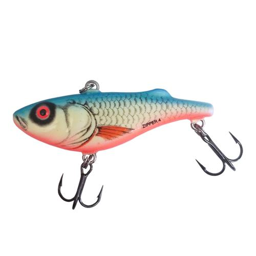 Salmo #4 Zipper - Luminescent Dace Blue