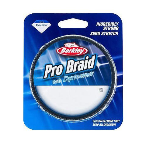 Berkley Pro Braid Fishing Line - Low-Vis Green 15