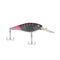 Berkley Flicker Shad - 7 cm Firetail MF Black Cougar Hard Baits