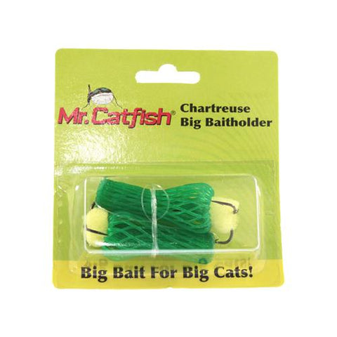 Mr. Catfish Chartreuse Big Baitholder Default Title