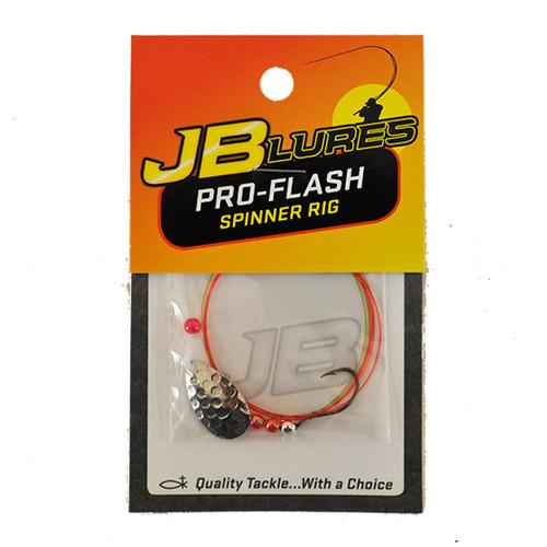 JB Lures Pro-Flash Spinner Rig - Hard Baits