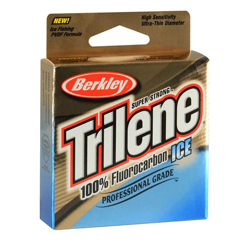 Berkley Trilene 100% Fluorocarbon Ice Fishing Line - 75 yards