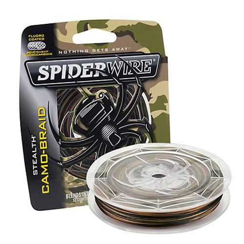 SpiderWire Stealth Camo Braid Fishing Line - 125yd