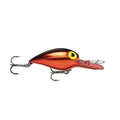 Storm Original Wiggle Wart Metallic Red Black Back Hard Baits