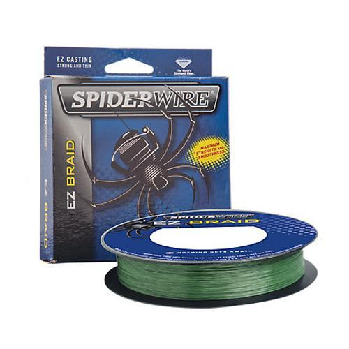SpiderWire EZ Braid Fishing Line - 110yd - Moss Green 20 Fishing Line