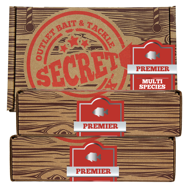 Secret Bait Box Multi Premier 3 Month Gift Edition Secret Bait Box