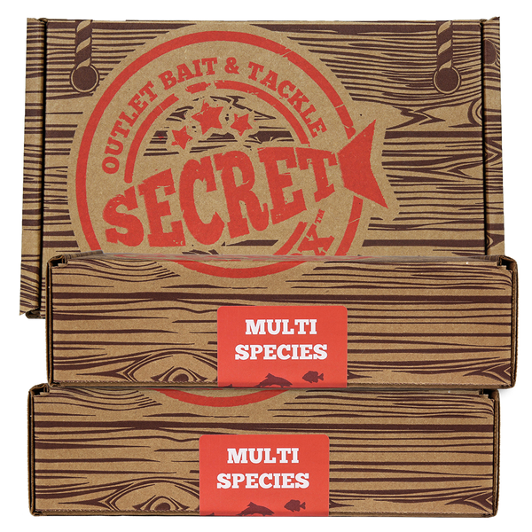 Secret Bait Box Multi Species 6 Month Gift Edition Secret Bait Box