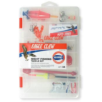 Eagle Claw Night Fishing Tackle Kit