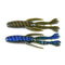 "PowerTeam Lures 4.5"" Bully Grass Devil - 6 Pack Okeechobee Craw Soft Baits"