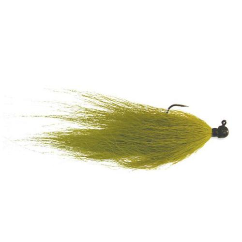 Kalin's Hot Hair Jig 1/16 oz / Olive Hard Baits