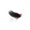 Gapen's Crappie Vixen Jig 1/32 oz / Orange/Black Hard Baits