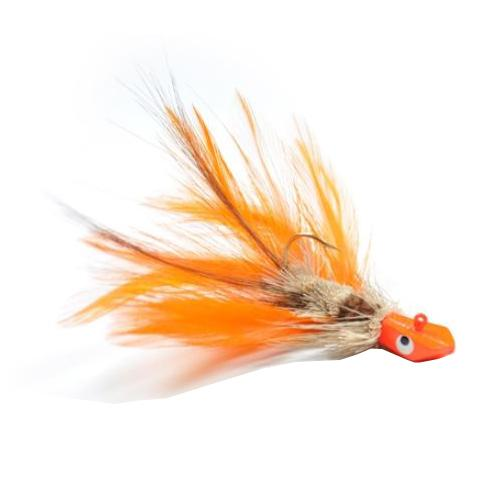 Gapen's Crawfish Jig 1/16 oz / Orange Hard Baits