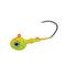 Mission Tackle Rock Chuck Jig Head - 3 Pack 1/8 oz / Orange/Chartreuse Hard Baits