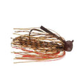 Terminator Weedless Football Jig 1/2 oz / Peanut Butter Jelly Hard Baits