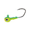 Mission Tackle Rock Chuck Jig Head - 3 Pack 1/4 oz / Parrot Hard Baits