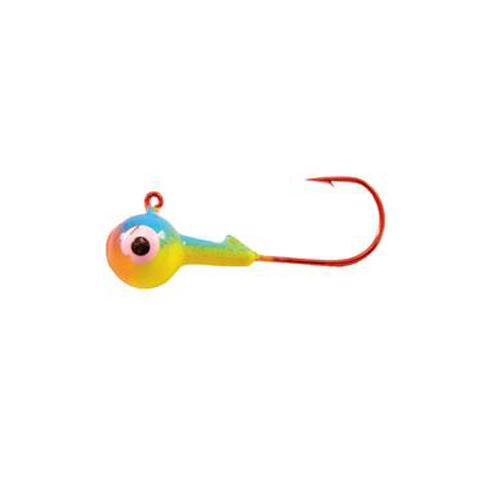 Mission Tackle 3/8 oz Round Head Jig - Parrot