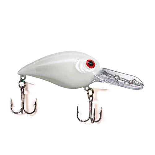Luck-E-Strike American Original Shallow Smoothy Pearl/Red Eye Hard Baits