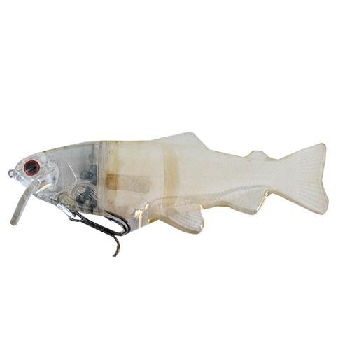 Castaic Hard Head Real Baits Pearl White Hard Baits