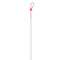 Ice Strong Ultra-Light Titanium Spring Bobber Pretty Pink Terminal Tackle