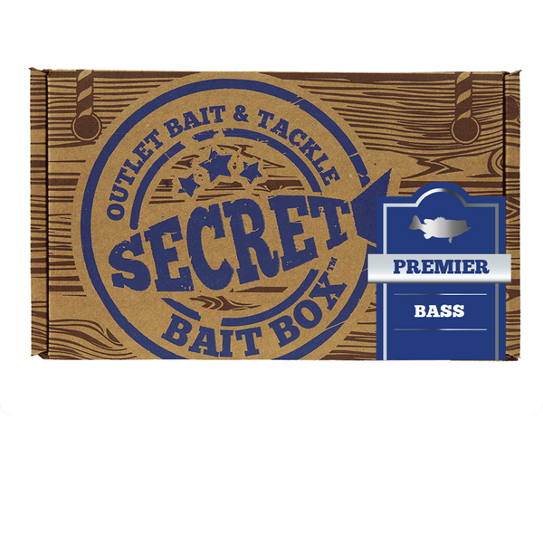 Secret Bait Box Bass Premier 3 Month Subscription Secret Bait Box