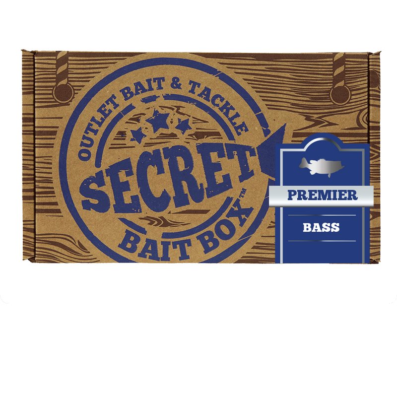 Secret Bait Box Bass Premier 12 Month Subscription Secret Bait Box