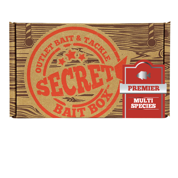 Secret Bait Box Multi Premier 1 Month Subscription Secret Bait Box