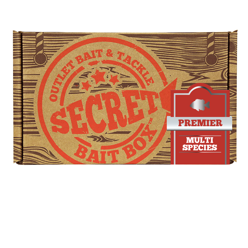 Secret Bait Box Multi Premier 6 Month Subscription Secret Bait Box