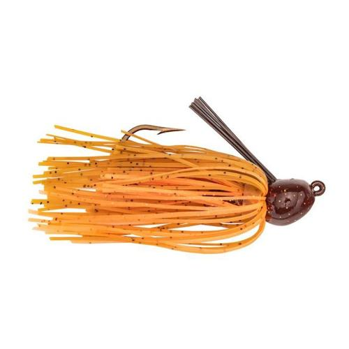 Strike King Bitsy Bug Mini Jig 1/4 oz / Pumpkin Craw Hard Baits