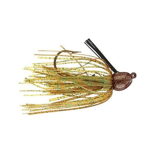 Strike King Bitsy Bug Mini Jig 1/8 oz / Pumpkin Hard Baits