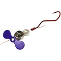 JB Lures Slow Death Plus Spinner Rig Purple Terminal Tackle