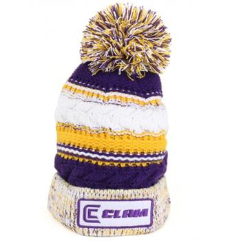 Clam Knit Pom Hat