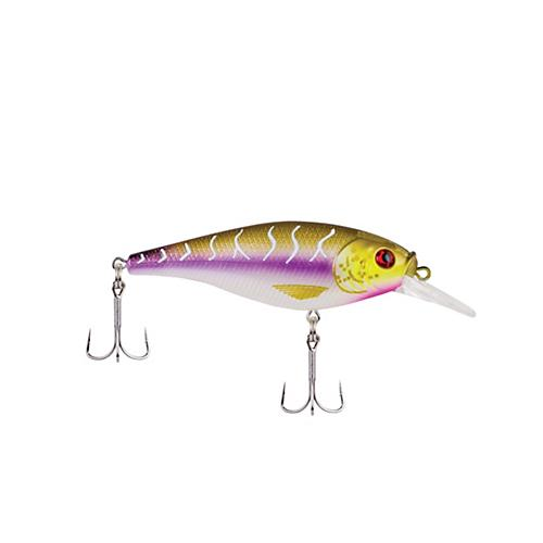 Berkley Flicker Shad Shallow - 7 cm Purple Tiger Hard Baits